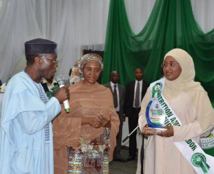Aisha Buhari launches the National Food and Nutrition Policy