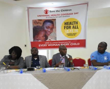 Save the Children Calls on FG to improve health care delivery for mothers and children in Nigeria